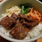 ソナム - カルビ丼(ライス小盛り)
