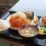 秋山食堂 - ★メンチカツ