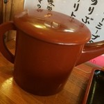 田舎うどんかもkyu - そば湯ならぬ「うどん湯」で汁を割って飲み干します