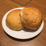 33713209 - パン(バター、カボチャ)