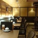 33714523 - 倉式珈琲店 イオンモール福岡店 店内は落ち着いた雰囲気です。fromグリーンロール