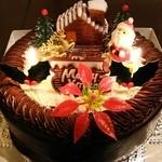 アンヂェラス - クリスマスケーキ  バタークリームチョコ7号