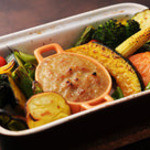 パンダバル - 焼き野菜のバーニャカウダー