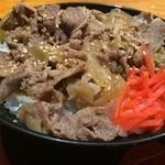 高田屋 - 牛丼