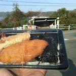 本家かまどや - 料理写真:後ろに見えるバス停は「海猿」で…。