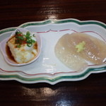 山女魚 - お通し(2014.11月)