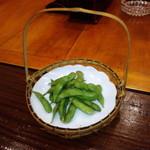 山女魚 - 茶豆 300円(2014.11月)