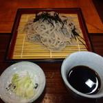 山女魚 - もりそば 600円(2014.11月)