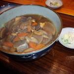 山女魚 - けんちんそば 850円(2014.11月)