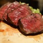 Bar espana carne - 70日熟成黒毛和牛もも100g