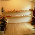 パティスリー エムズ パッション - ツリーも有ったクリスマスな店内☆(2014年12月)
