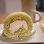 茶米古道カフェ - ロールケーキ