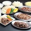 松尾ジンギスカン - 料理写真:食べ放題メニュー例①