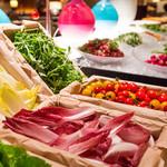 ロビーラウンジ 「マーブルラウンジ」 - 【ブッフェ】ガーデン野菜コーナー