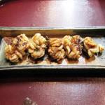 季節料理 みのり - くもこ焼き(1500円+税)。<2014.12>