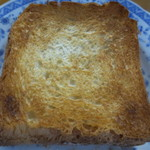 グード・ファリーヌ - トーストしました。焼き上がりの香りがなかなかでした。