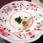 季節料理 みのり - キレイなお皿と千枚漬け<2014.12>