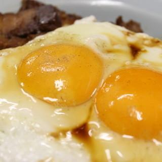 焼豚玉子飯の美味しい食べ方