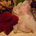 魚金 - ☆鯛&鮪赤身&蛸ちゃん(^◇^)☆