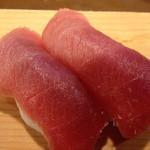 いなせ寿司 - 鮪はなんといっても、中トロ。中トロは最高です。