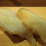 いなせ寿司 - コリコリのみる貝、これは食べたい