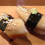 いなせ寿司 - あまからの煮ツメタレがなんともうまい煮イカ