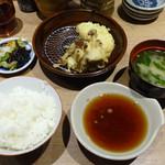 33733209 - 「あなご天定食」720円(天ぷらは最初の2品)