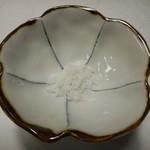 日本料理 つか佐 - 唐揚げの塩