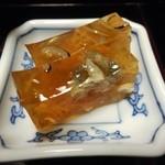 日本料理 つか佐 - 煮凝り