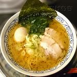 ひろき家 - 塩ラーメン(煮卵トッピング)