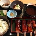 鈴の屋 - 菜飯田楽定食