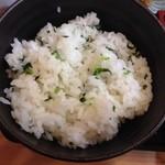 鈴の屋 - 菜飯