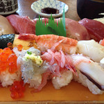 金寿司 地魚定 - 地魚にぎり