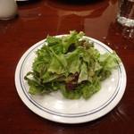 パパス カフェ - ディナー・セットのサラダ