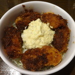 ピッキオ - 自家製タルタルソースのカキフライ丼:500円
