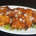 人気メニュー鶏肉の唐揚げカレー風味5個入り