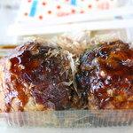 嬉野パーキングエリア(上り線)フードコート - 食べづらい超特大たこ焼き 2個600円