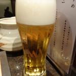 舞桜 - ドリンク写真:生ビール♪