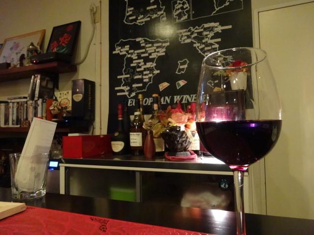 美ワイン処 R - カウンターからの眺め