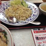 尊鉢ラーメン - 猪バター炒めライス(限定)