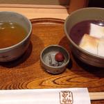 赤福茶屋 - 赤福ぜんざい¥520