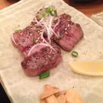 肉刺し・串焼き げん - 炙りタン