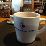 マーマレードカフェ - イタリアの『LAVAZZA』ブランドのコーヒー豆を使っているコーヒー