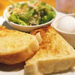 マーマレードカフェ - アーモンドトーストのモーニングセット