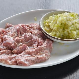 豚カシラネギ塩