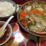 天壇 - 中華丼 ¥800