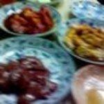 せっちゃん - レバ刺、豚肉、ホルモン