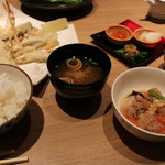 ヴィネスパ 湯楽 - 冬の天ぷら膳