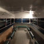 ロンドンバスカフェ - バス2階の客席