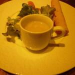 ボンベイ・インディアン・ダイニング - スープ&サラダ